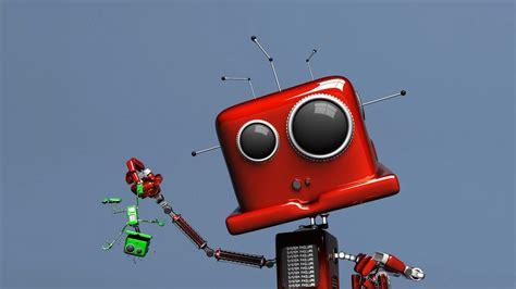 fondos de pantalla robots robot rojo 3d 1920x1080 fondos de pantalla y wallpapers