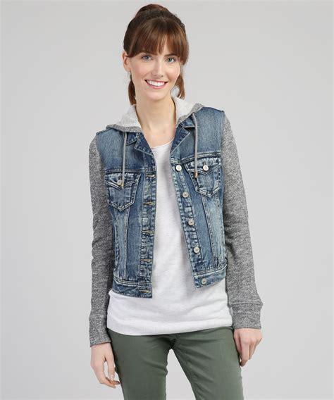 knit denim jacket knit denim jacket silver co