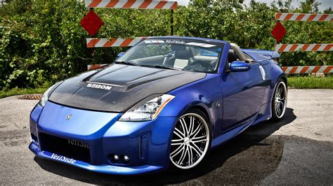 nissan 350z convertible nissan 350z roadster wallpapers hd convertible blue