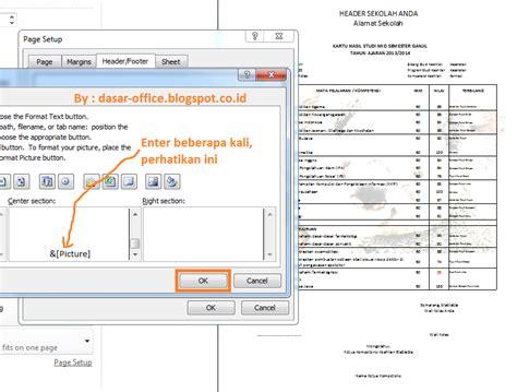 cara membuat watermark office 2013 cara membuat gambar transparan watermark di excel