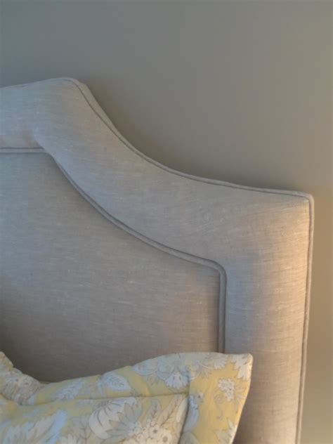 linen headboard bedroom cool linen headboard for your bedroom design
