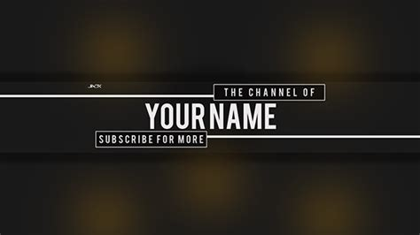 graphic design youtube banner youtube banner design tweet mrjackspence to win on behance