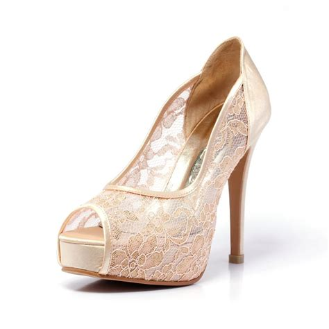 Best Place To Buy Bridal Shoes by Best 25 Chagne Heels Ideas On Chagne
