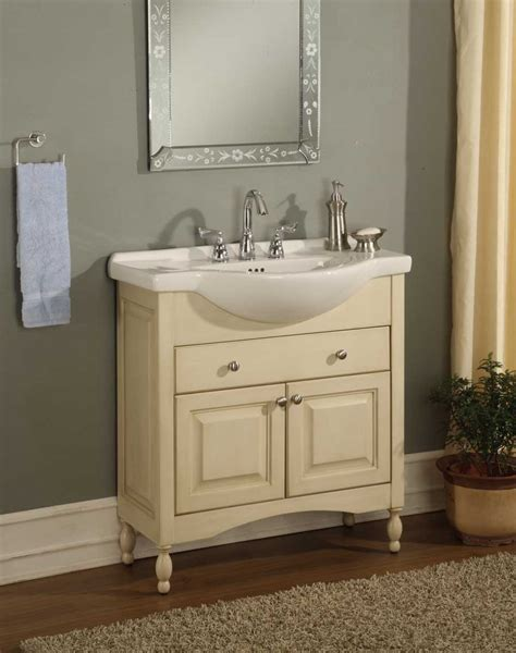 bathroom vanity narrow depth empire industries windsor 34 quot shallow depth vanity with
