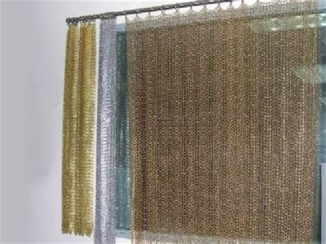 chain mail curtain chainmail curtain with rings for straight curved and