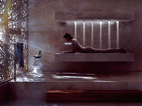 Horizontal Shower by Multifunction Shower Cabin Horizontal Shower By Dornbracht