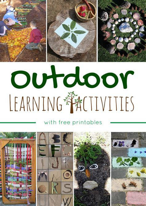 new year 2015 learning activities outdoor learning activities with free printables
