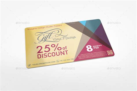 reward cards template mock up 55 best gift greeting and invitation card mockups free