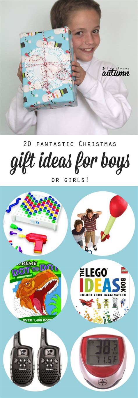 20 best christmas gift ideas for boys it s always autumn