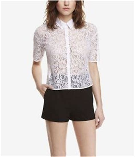 White Lace Button Blouse by White Lace Button Up Blouse Clothing