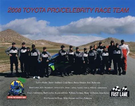 Toyota Announces The Field For The 2008 Proceleb Race by Home All American Racing 174