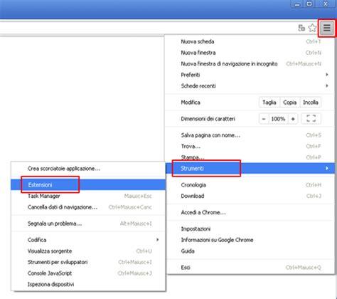 tutorial online ut 2014 rimuovere vosteran search wse vosteran da chrome