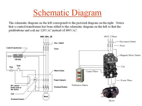 100 contactor wiring diagram start stop wiring
