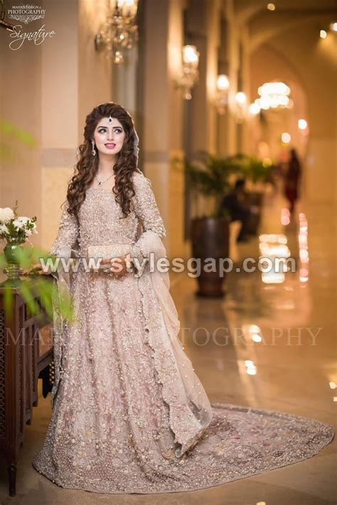 beautiful walima bridal dresses collection 2017 18