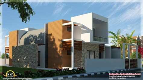 Contemporary Home Plans by Beautiful Contemporary Home Designs Kerala Home Design