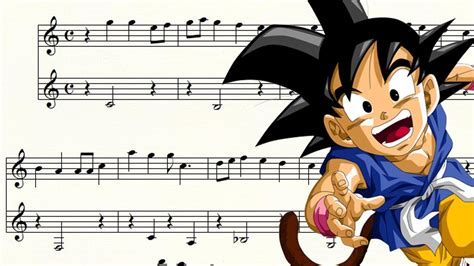 tutorial piano dragon ball z mi corazon encantado dragon ball gt partitura para