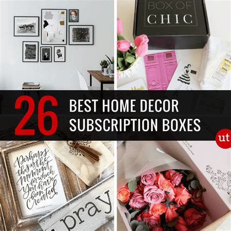 home decor subscription box 26 best home decor subscription boxes urban tastebud