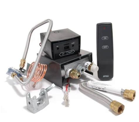black friday gas fireplace safety pilot kit with remote