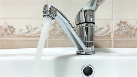bathroom video clip bathroom faucet with running water stock footage video