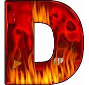 Presentation Alphabets Hot Letter D