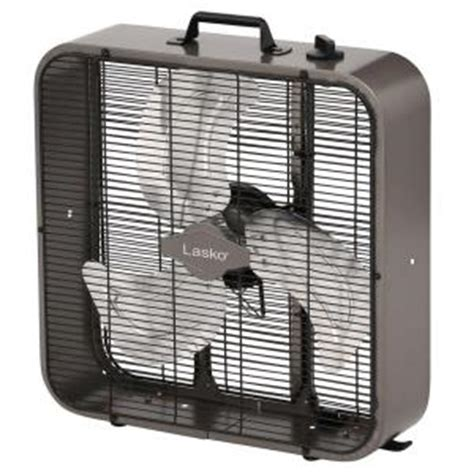 lasko 20 in metal box fan b20725 the home depot