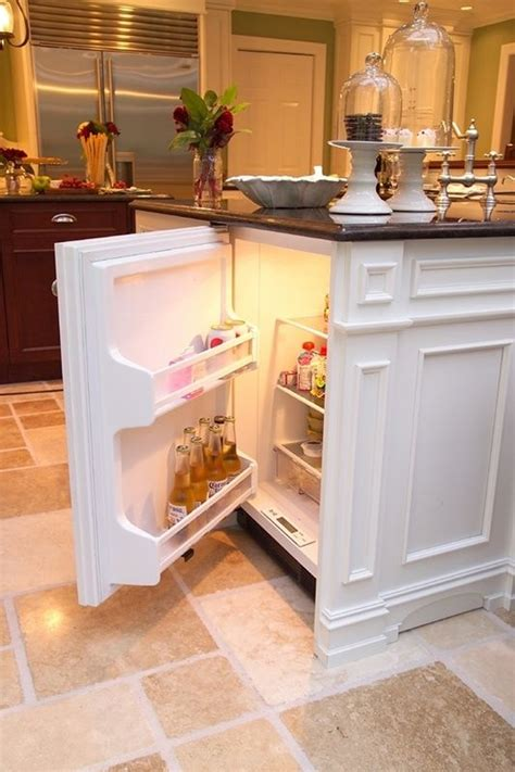 kitchen island with refrigerator secret refrigerator the kitchen island home decor like