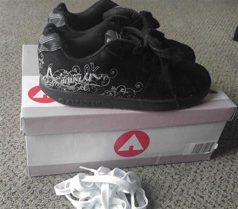 Airwalk Sneaker Size 42 s black white airwalk vice skater sneakers shoes size 8 athletic