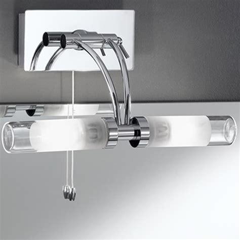franklite wb976 chrome over mirror bathroom light at love4lighting franklite glass chrome square 2 light ip44 bathroom