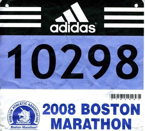 The Runner Bib Number Excitement Race Number Template