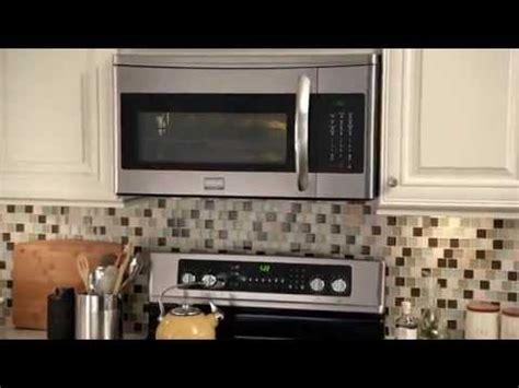frigidaire gallery   range microwave youtube