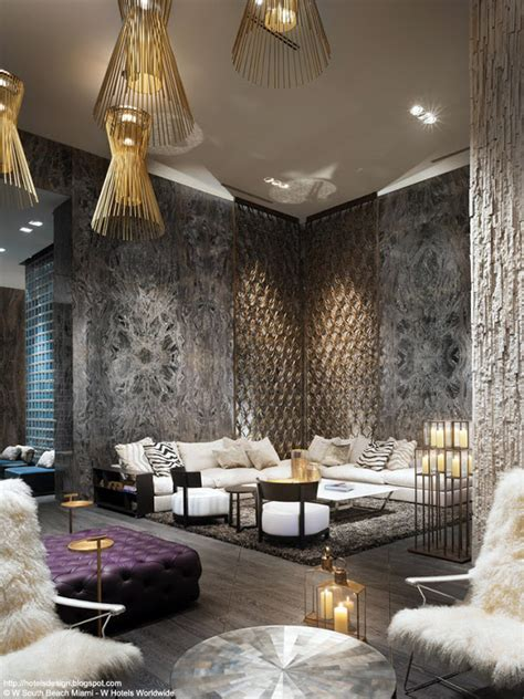 living room miami beach les plus beaux hotels design du monde h 244 tel w south beach by kondylis architecture nbww