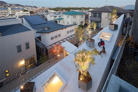designboom osaka sou fujimoto house k maximizes space with soaring roof