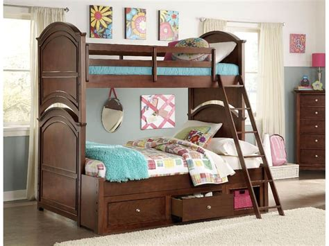cherry bunk bed impressions clear cherry bunk bed