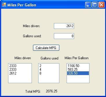 how to calculate per gallon per gallon problem guaranteed a solution