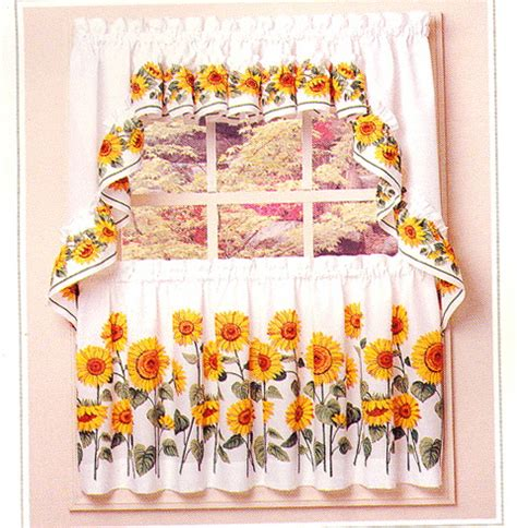 Sunflower Kitchen Curtains Beautiful Curtains For Windows Ideas For Home Garden Bedroom Kitchen Homeideasmag