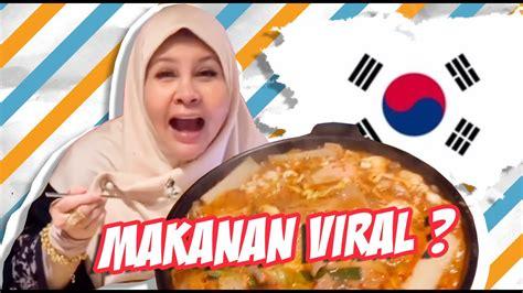 bonda makan makanan korea viral youtube
