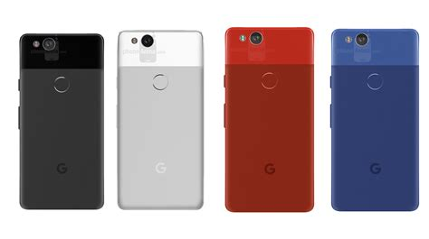 Google Pixel 2 Renders Show Red and Blue Colors, New