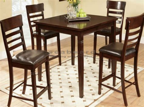 Pub Dining Table Chairs Counter Height Pub Dining Table Sets In Myrtle