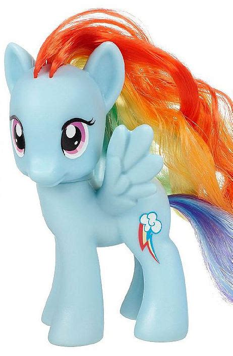 Mlp Blind Bag Ponies G4 My Little Pony Reference Rainbow Dash Friendship Is