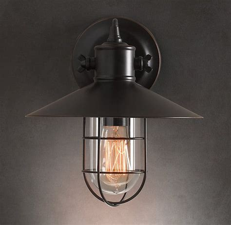 Restoration Hardware Outdoor Lights Restoration Hardware Harbor Sconce There S No Place Like Home P