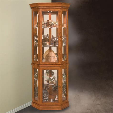 lighted corner curio cabinet lighted corner curio cabinet ideas the clayton design