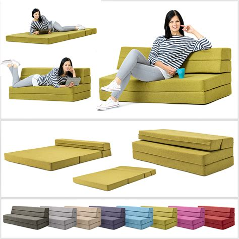 fold out double foam sofa bed amellia fold out foam guest z bed 2 seater folding futon