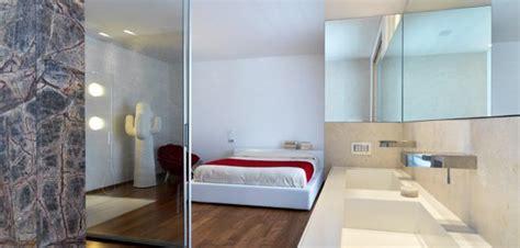 chambre ouverte sur salle de bain top 10 des salle de bains design ouvertes sur chambre