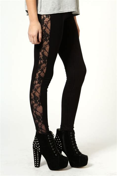 Lace Legging esme lace side