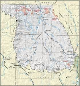 jackson county colorado geological survey