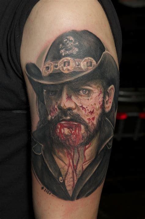 lemmy of motorhead tattoo zombie lemmy by graynd deviantart com on deviantart