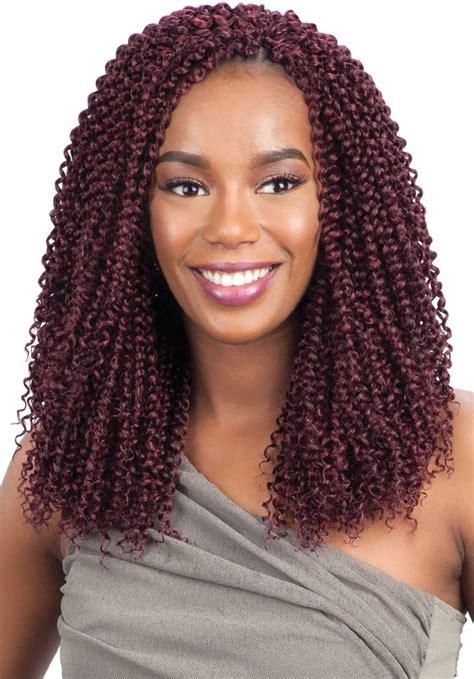 model model glance braid kinky bohemian curl