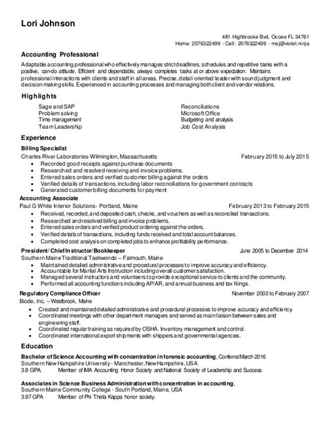Update Resume lori johnson resume 2016 update