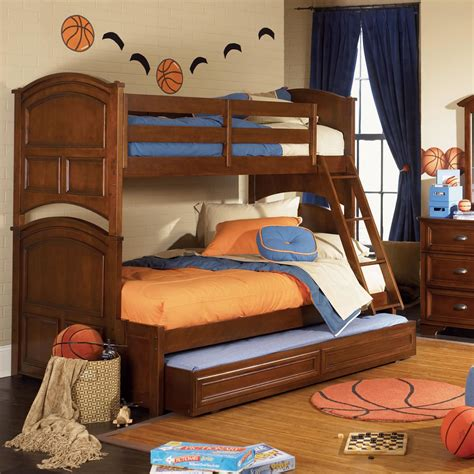 twin and full bunk bed bunk beds twin over full kids furniture ideas
