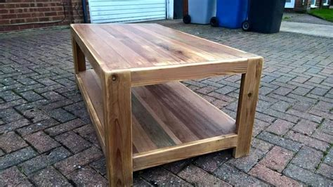 build coffee table from pallets pallet coffee table with side tables 101 pallet ideas